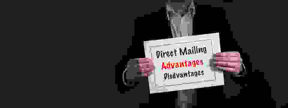 What are the advantages and disadvantages of Direct Mailing?